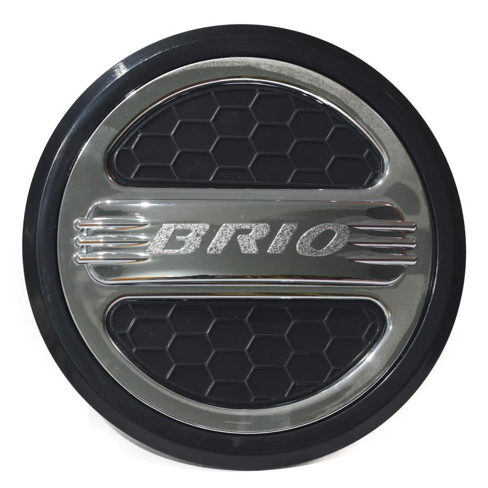 Tank Cover BRIO / Tutup Bensin Tangki Tengki BRIO Model Hitam Chrome