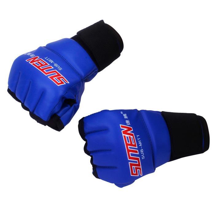 BEST SELLER!!! Suten gloves MMA muay thai kick boxing UFC sarung tinju PU leather - JENVCI