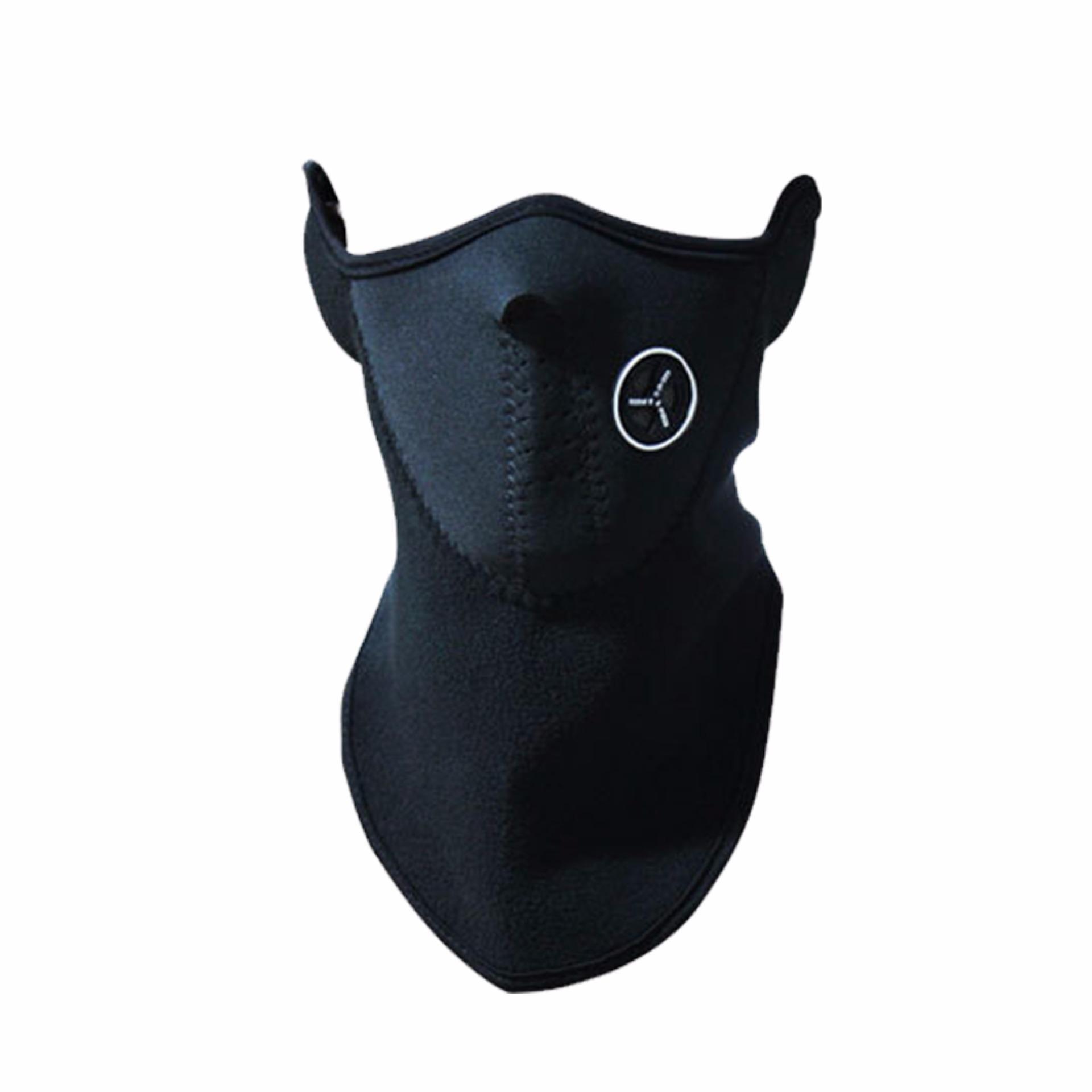 EELIC 887 Hitam Masker Penutup Muka Full Face Aman Praktis dan Nyaman Berbahan Bulu Domba Yang Lembut Dan Anti Air Sehingga Cocok Digunakan Untuk Kondisi Udara Dingin