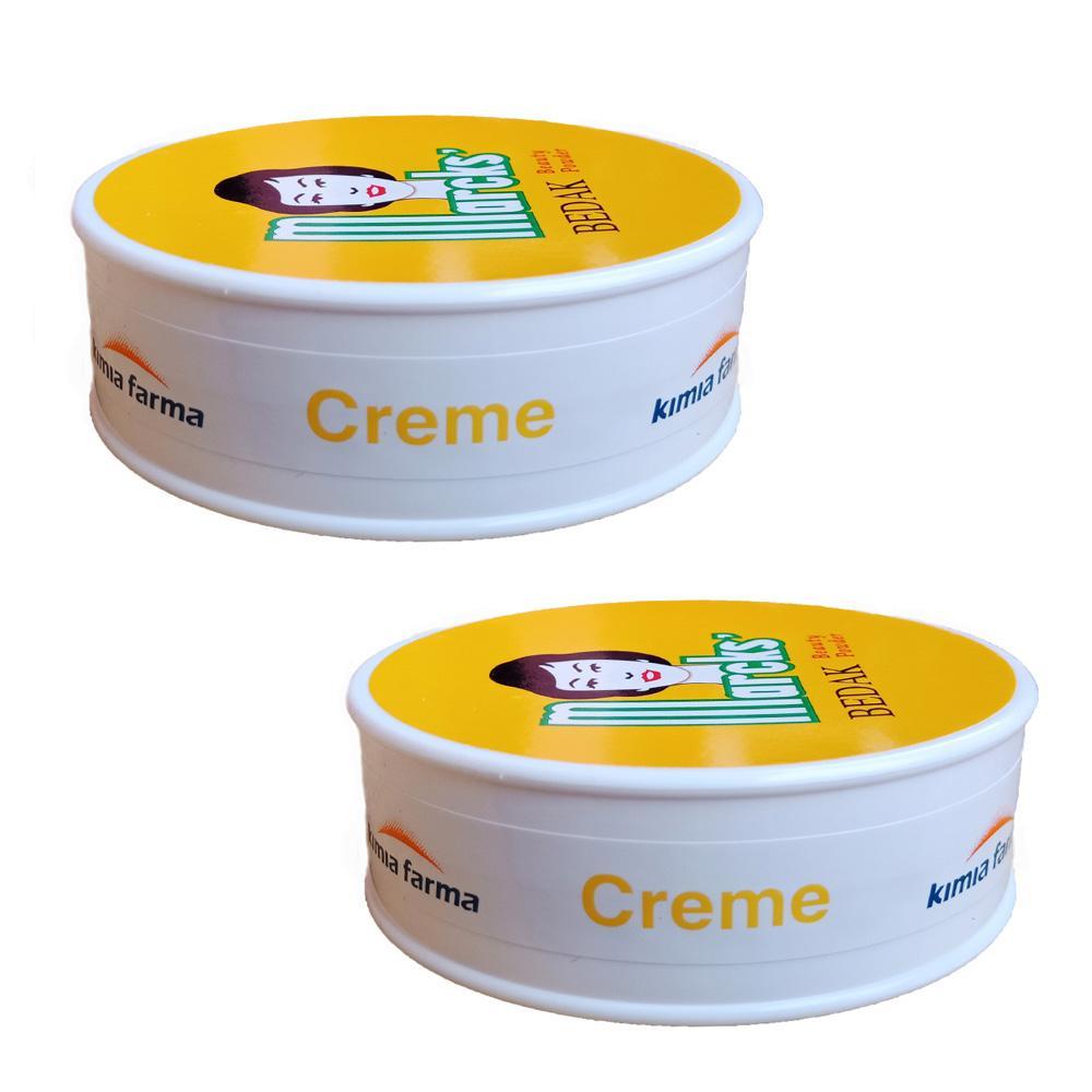 Delin Store - Marcks Bedak Tabur Creme 40 Gram 2 Pcs