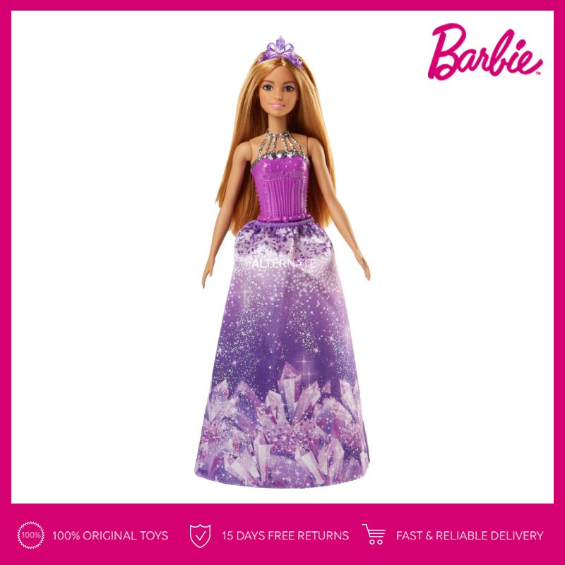 Barbie Dreamtopia Princess Doll (Purple Crown) Mainan Boneka Anak Perempuan 7fd07fd9b9