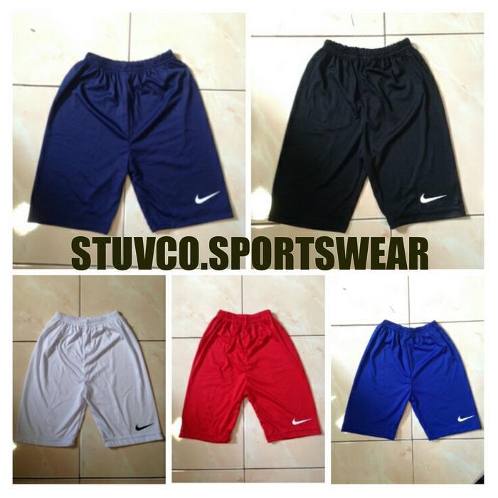 Short Pants/Celana Baselayer, Renang, Sepeda, Gym, Fitness Nike