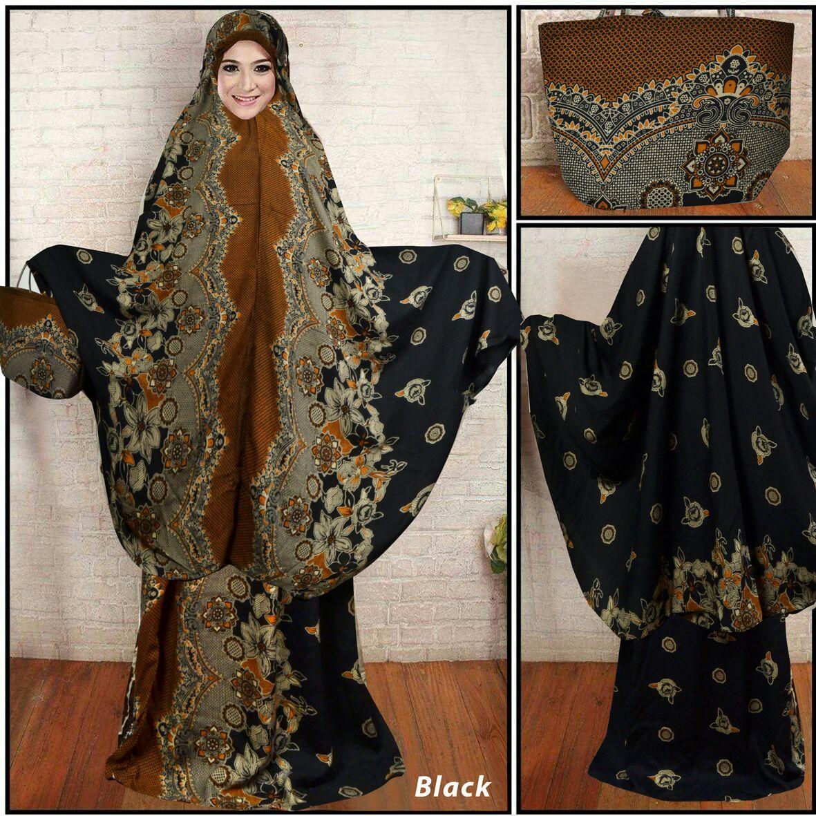Newone Shop Mukena Katun Bali - Mukena Batik Wanita 2