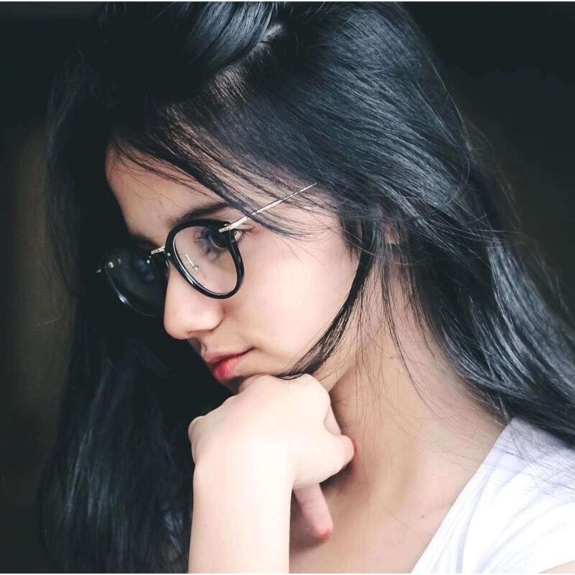 Kacamata Pria Wanita Lenon Metal Black Timely High Quality Charming Womens Round Clear Lens Glasses Sun 4480