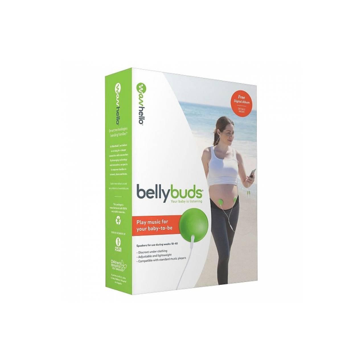 Bellybuds Baby-Bump Sound System