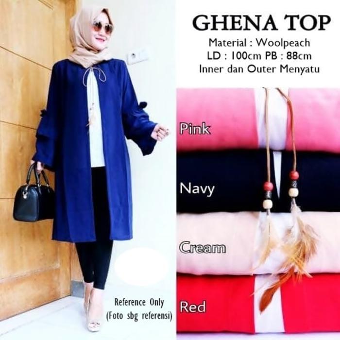 Ghena Top - Cream