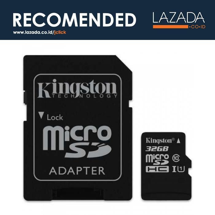 Kingston Canvas Select MicroSDHC/XC UHS-I Class 10 (80MB/s)