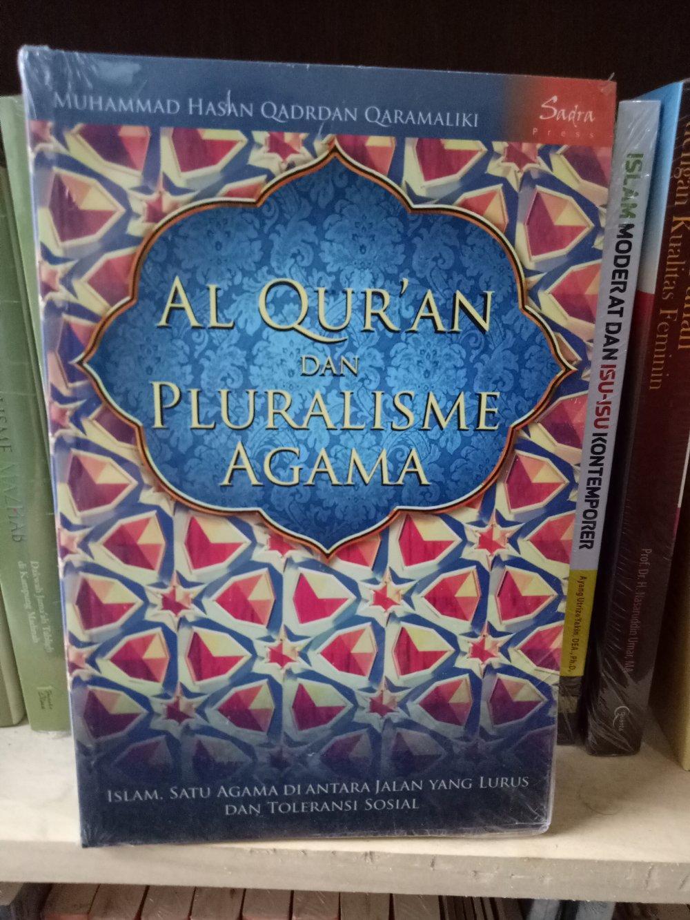 Al Quran Dan Pluralisme Agama - Muhammad Hasan By Metro Bookstore Malang.