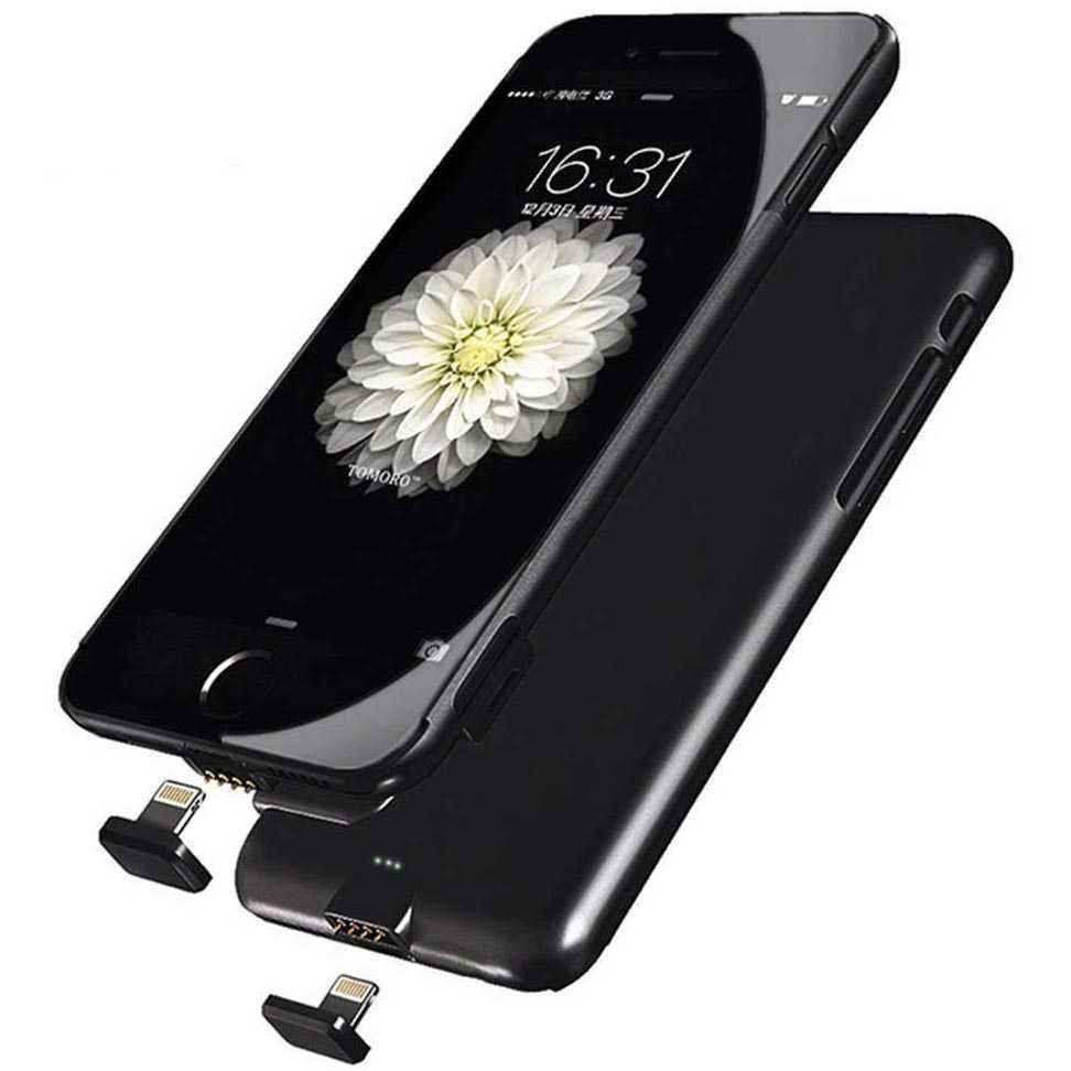 Smart Charging Case 1500mAh for iPhone 6/6S/7/8 Casing HP Murah Terbaru