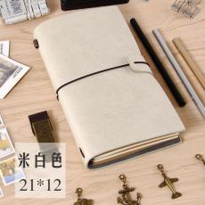 Buku Binder Poly urethane a5 Kaze catatan model Eropa Retro kreatif diary catok mengikat Korea Selatan