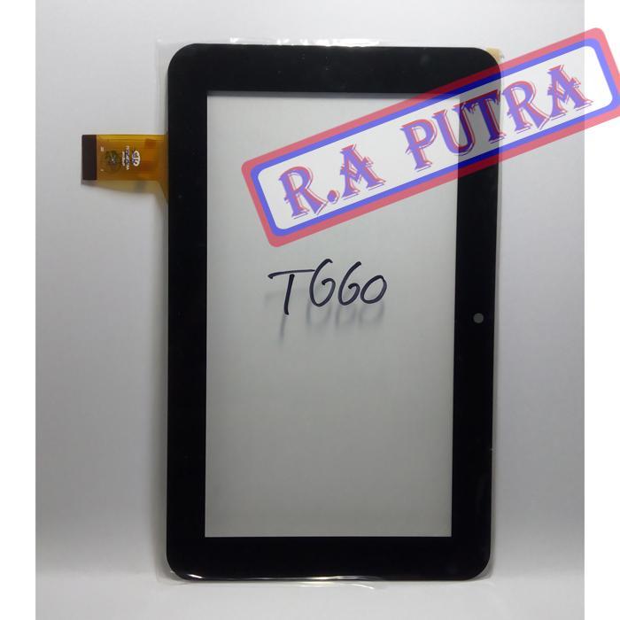 Layar Sentuh Mito T660 Kamera Di Tengah Ts Touchscreen Original