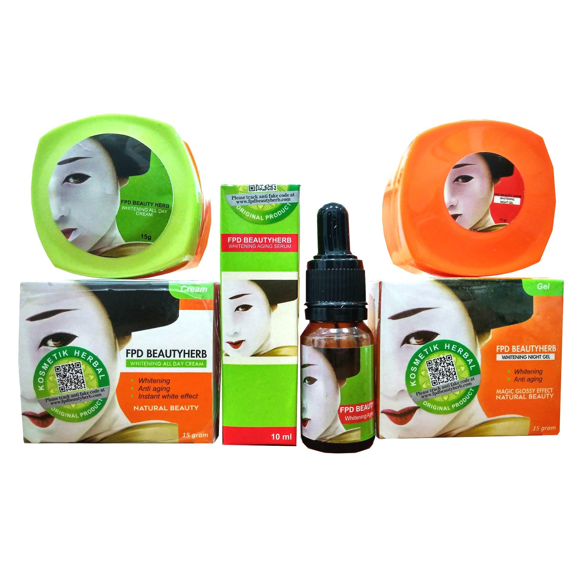 Magic Glossy Cream Paket Perawatan Wajah Fpd Beauty Herbal - BPOM