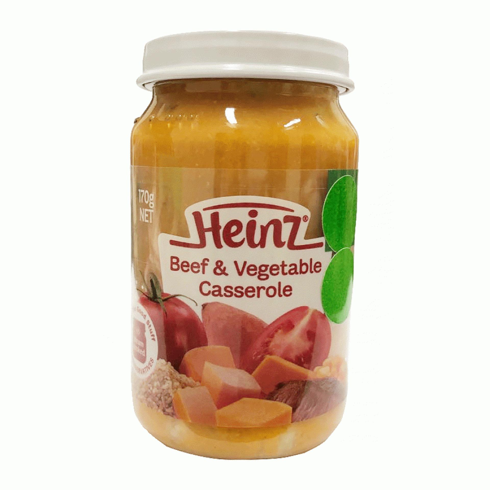 Heinz Mum's Recipe Beef & Vegetable Casserole 170gr - 10m+