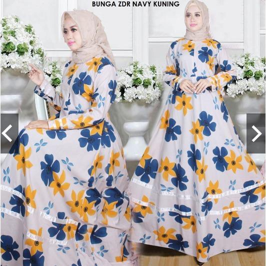 MoslemWear Fashion Busana Kondangan Muslim Wanita - Gamis Pesta Cantik Katun Jepang Halus Premium Jumbo Busui Mewah Elegan Modern Casual - Kebaya Modern Gaun Party Maxi Dress Hijab Jilbab Batik ihzdr
