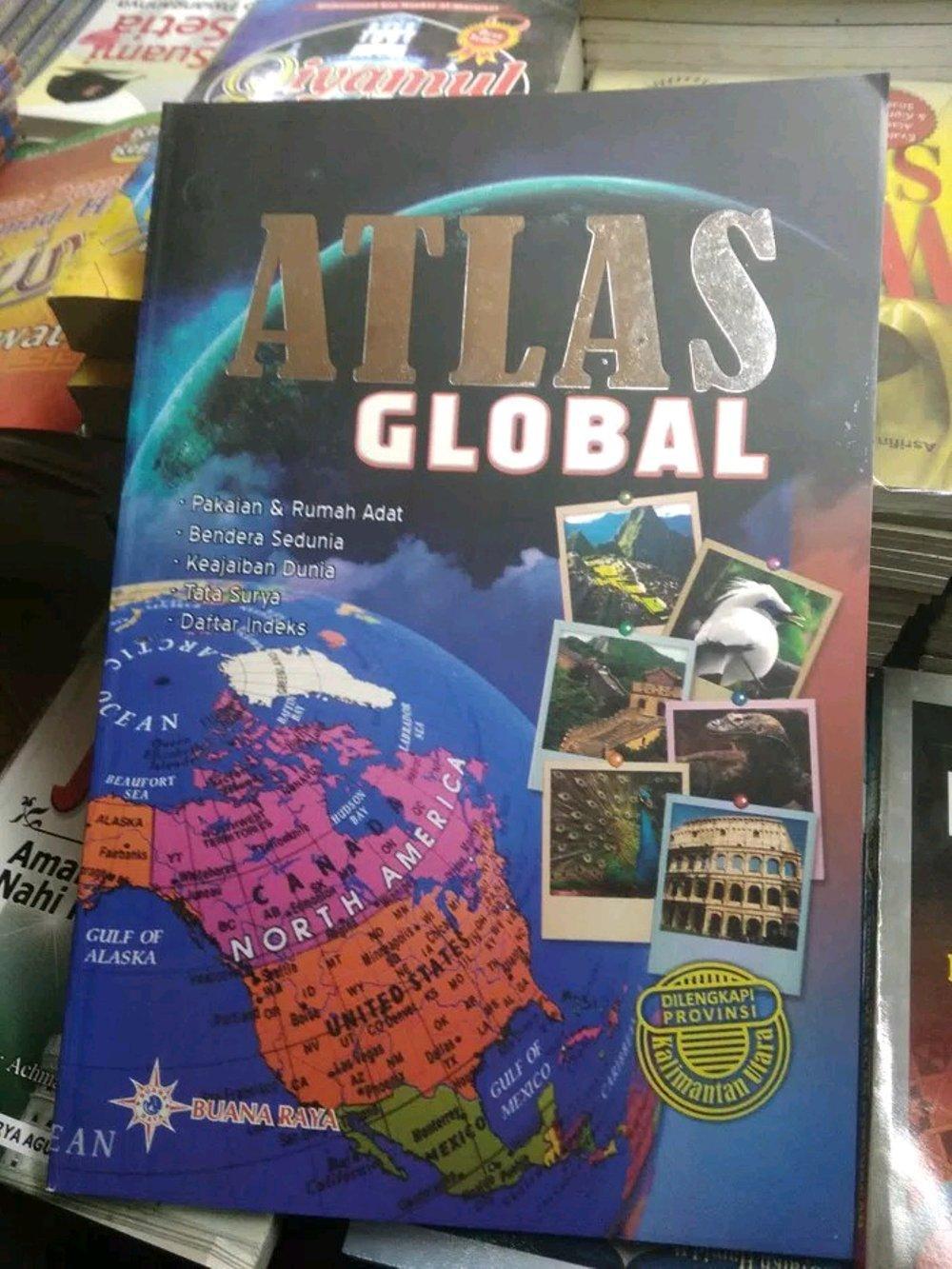 ATLAS GLOBAL dilengkapi provinsi