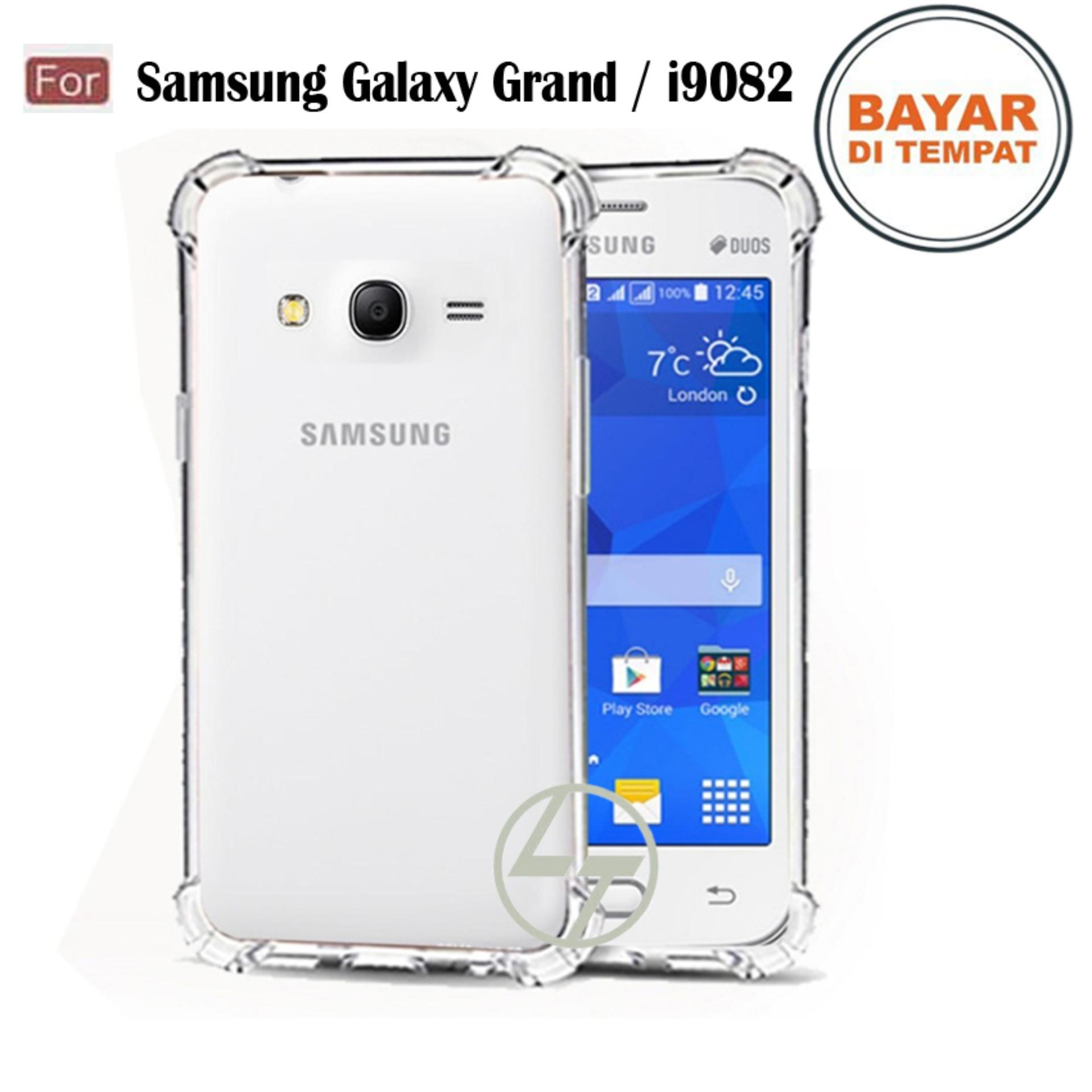 Lapak Case - Softcase Anti Crack Silikon Casing Anticrack Anti Bentur Terbaik Untuk Samsung Galaxy Grand Duos / i9082 /Grand 1 / Grand Z