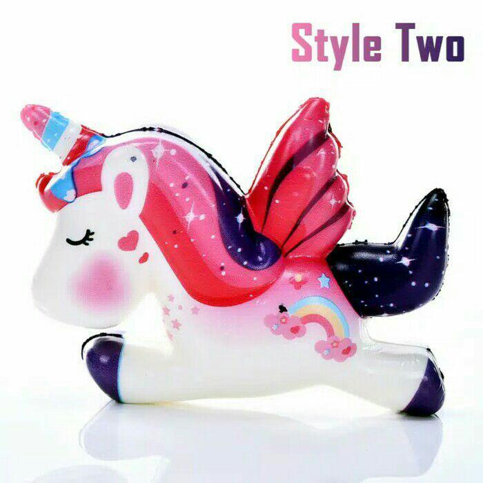 Squishy Squisy Jumbo Slow Licensed Murah - unicorn
