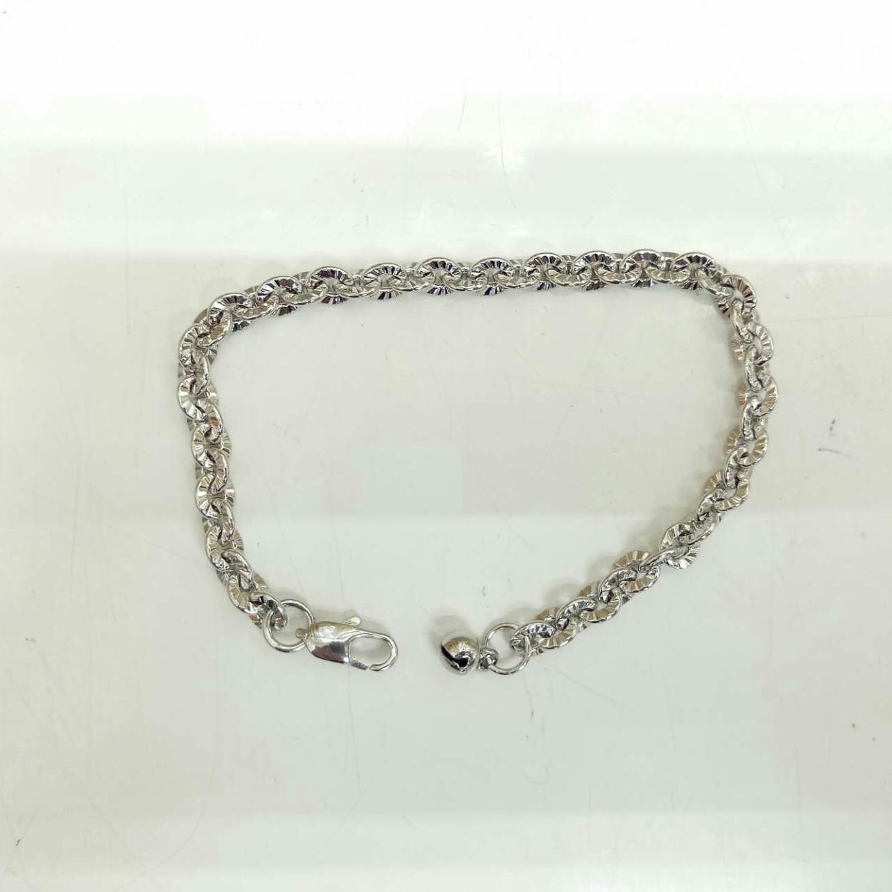 Xuping Acc Permata - Gelang motif simple Cantik - Silver ready ( Acc Permata )