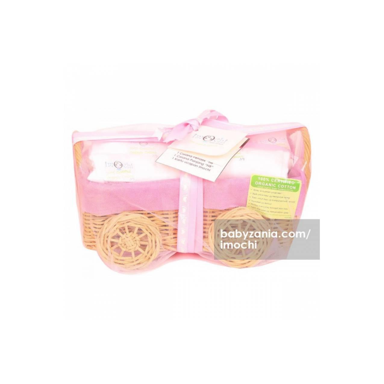 Imochi Parcel Kotak Kecil Putih Girl T2909