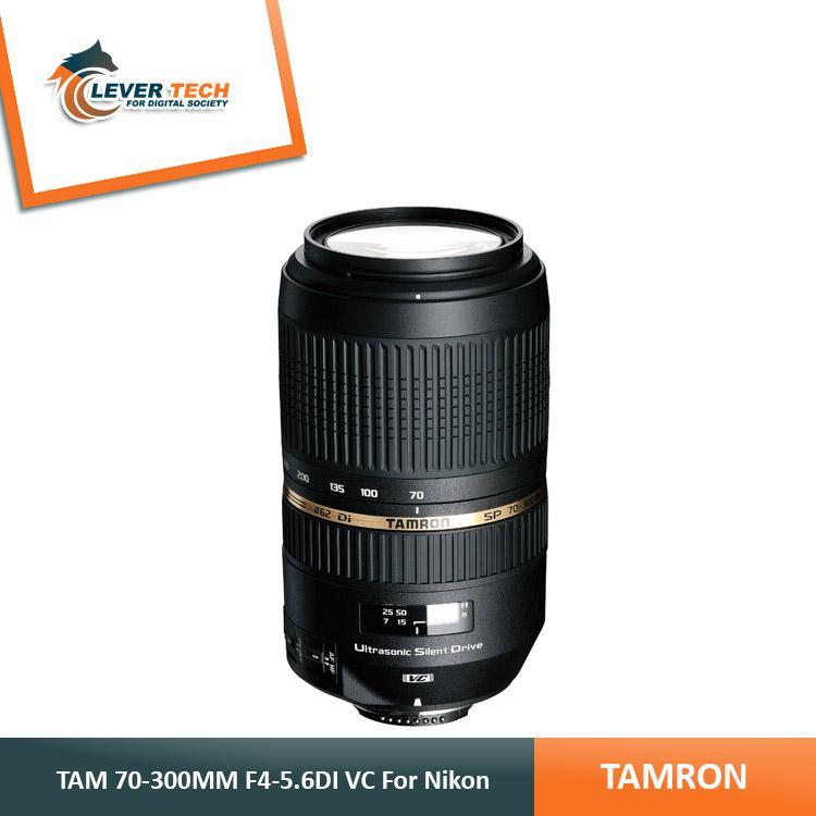 Tamron For Nikon SP 70-300mm F4-5.6 Di VC USD lens