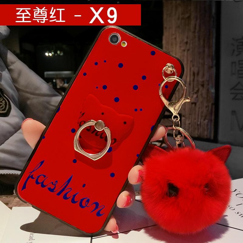 Vivox9s Casing HP X20 Silikon Model Wanita Tali Gantung Leher X9splus Bungkus Penuh Sisi Lunak X7plus