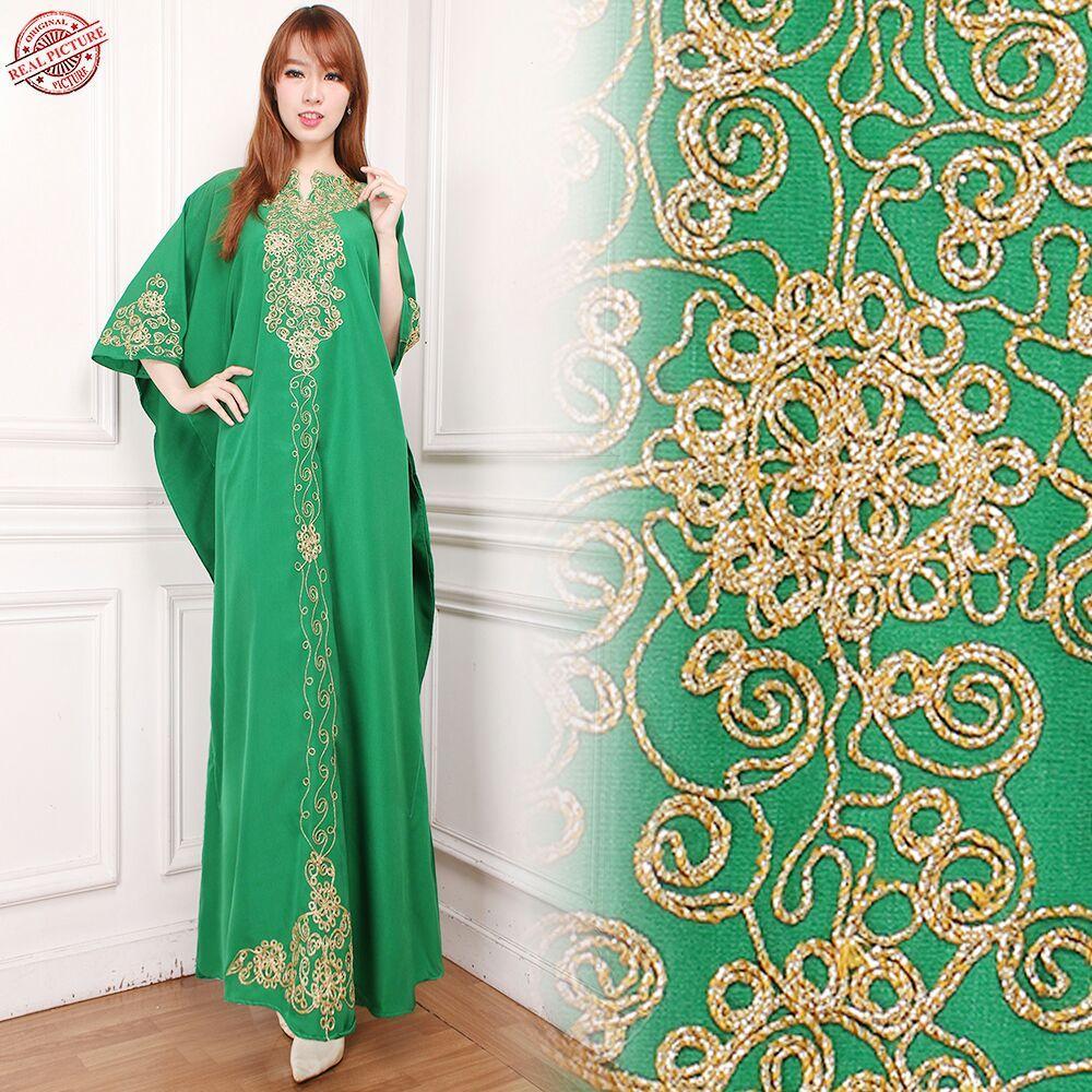SB Collection Dress Maxi Reny Longdress Kaftan Gamis Jumbo Batik Wanita