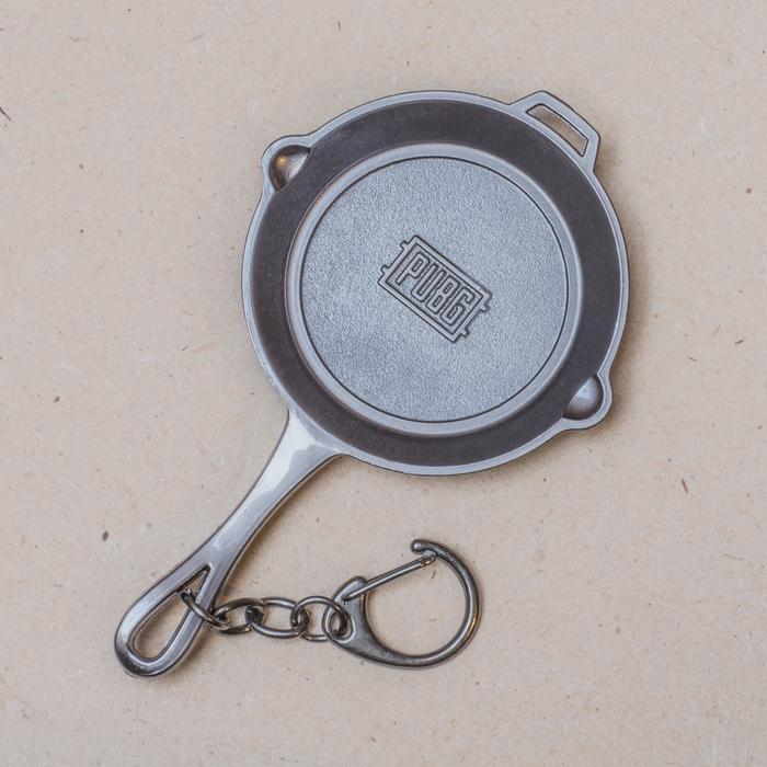 Panci Frying Pan Gantungan Kunci Keychain PUBG Besar