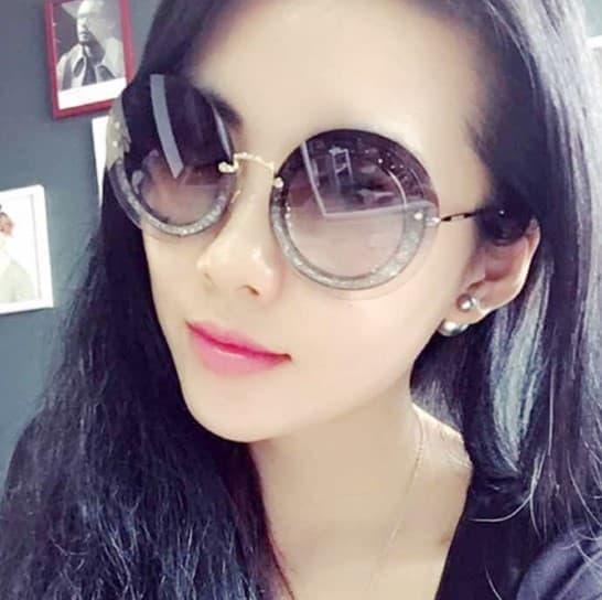 Kacamata Wanita Fashion korea glitter KC 234 Black Kacamata keren wanita    kacamata korea  a146bb69cf