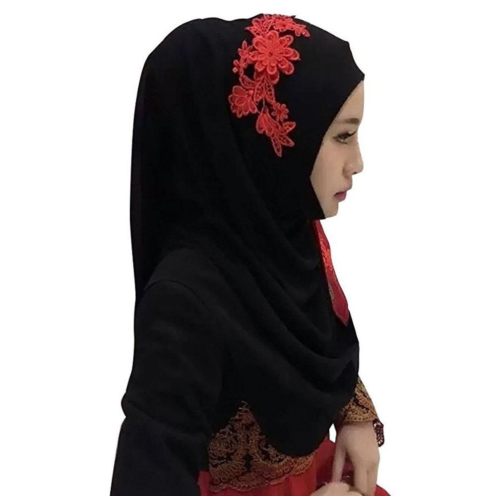 Kerudung Muslim Elastik Elastis Modal Bahan Tudung Topi Syal