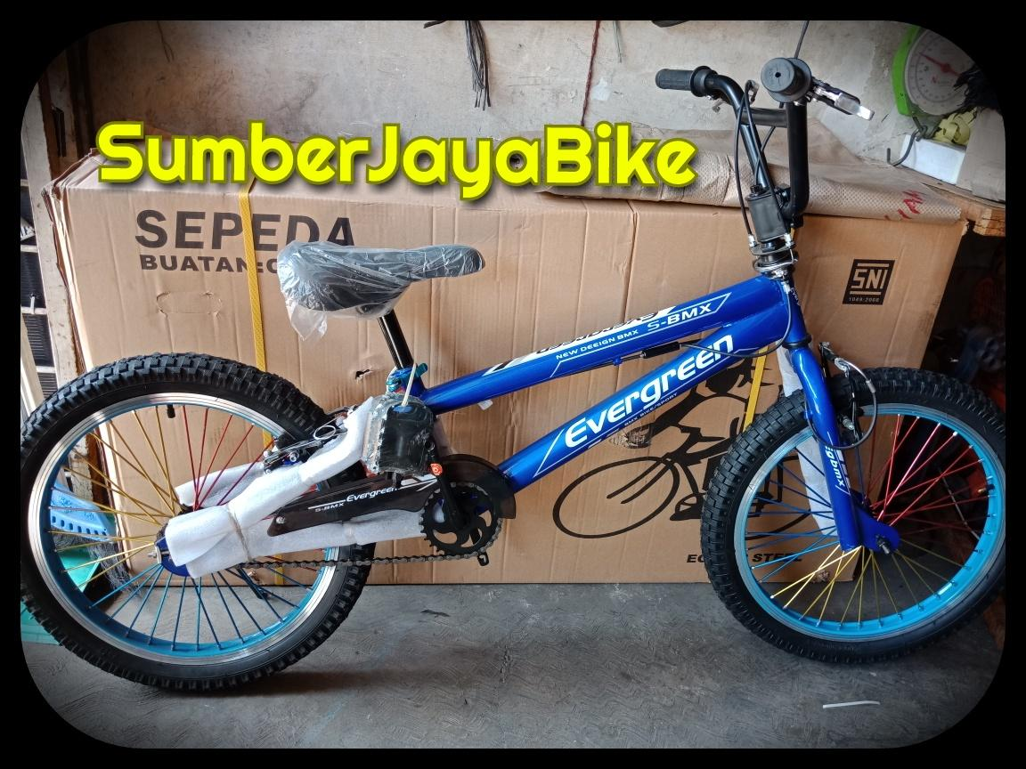 Sepeda BMX 20in Evergreen Rotor (stang muter)