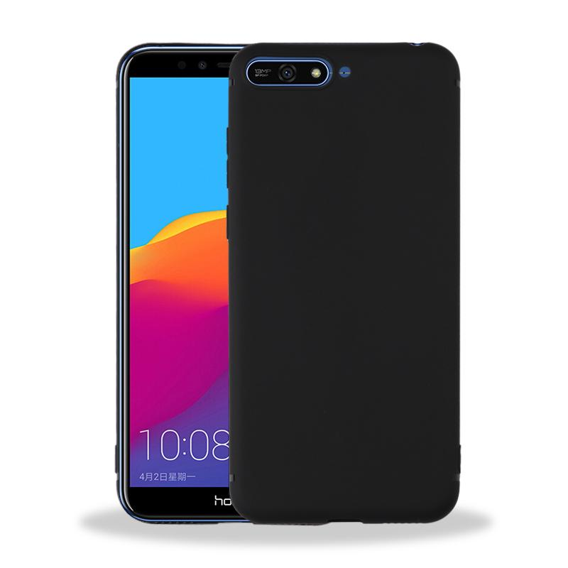 Solid Matte Soft Case Casing for Huawei Y6 2018