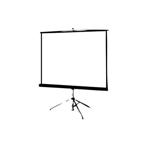Layar Projector With Tripod 70 Inch