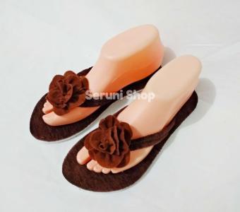 Beli sekarang Sandal Santai Rosalia Cokelat terbaik murah - Hanya Rp12.299 a36e65c636
