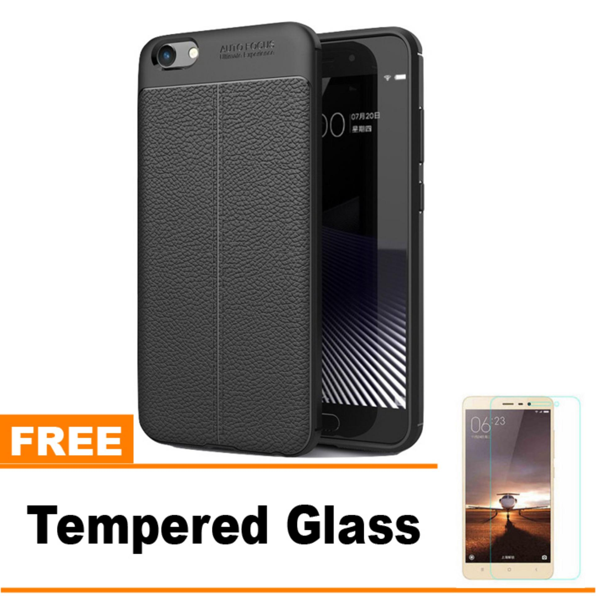Original Lazada Case Auto Focus For Vivo Y69 - Hitam - Hadiah Tempered Glass