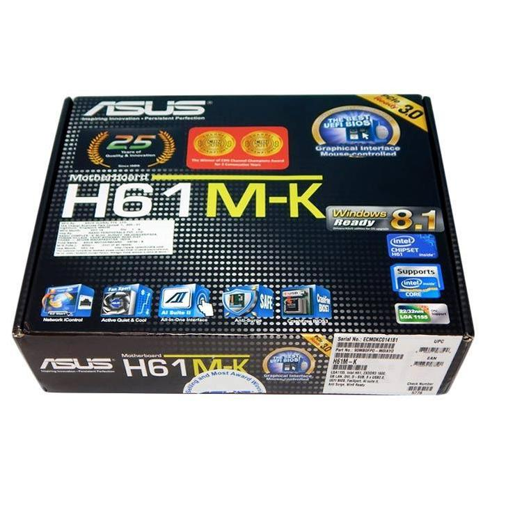 Motherboard Mainboard PC H61M-K