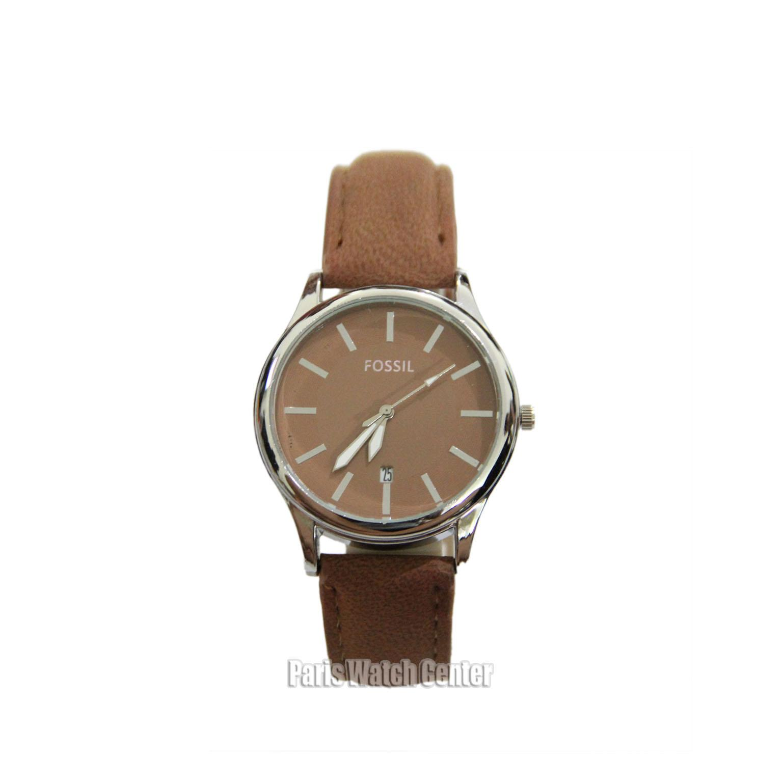 Jam Tangan Fossil Fashion Wanita Stainless Steel Leather Date Active MOdel Terbaru
