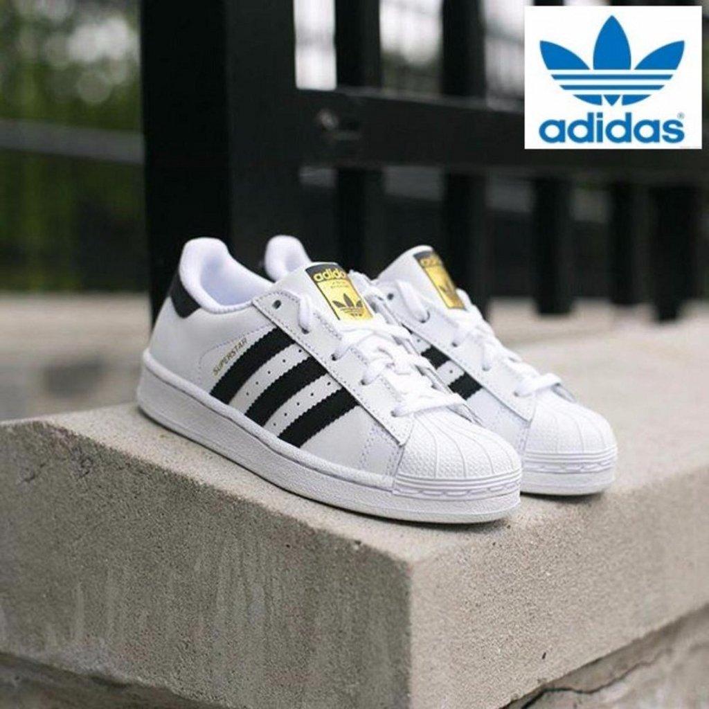 Adidas Originals SUPERSTAR C77124 Unisex CLASSIC Sepatu Express 74f59c6926