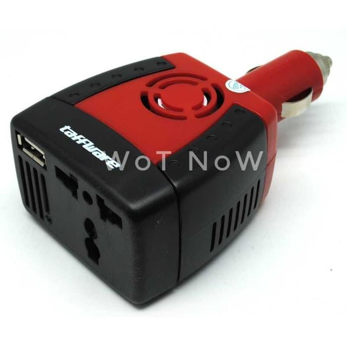 Termurah Compact Power Car Inverter 150W 220V AC EU Plug and 5V USB Ch