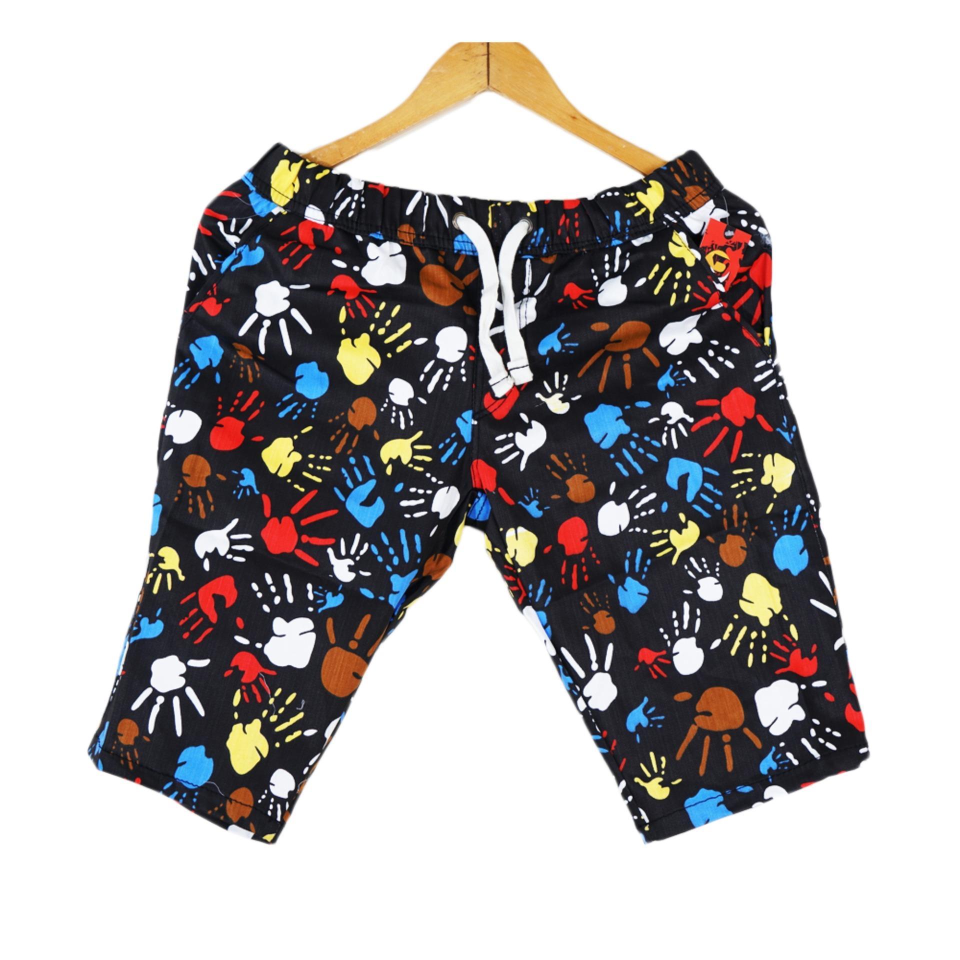 Dapurbunda Munafie Slim Pant Celana Korset All Size Hitam A147 Berry Original Slimming Pants 5 Vanwin Pendek Pria Printing Santai Tangan Hand Motif