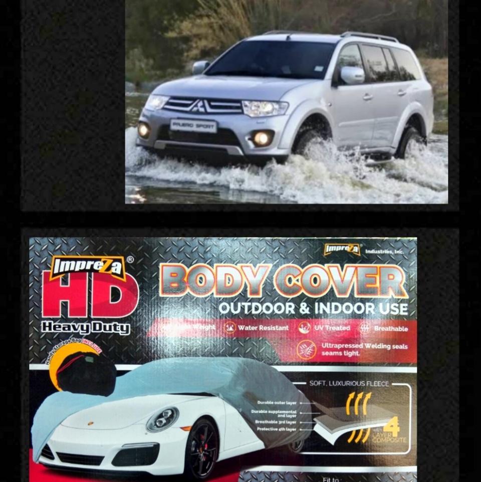 PADIe-Impreza SUPER HEAVY DUTY Car Body Cover Mitsubishi PAJERO SPORT