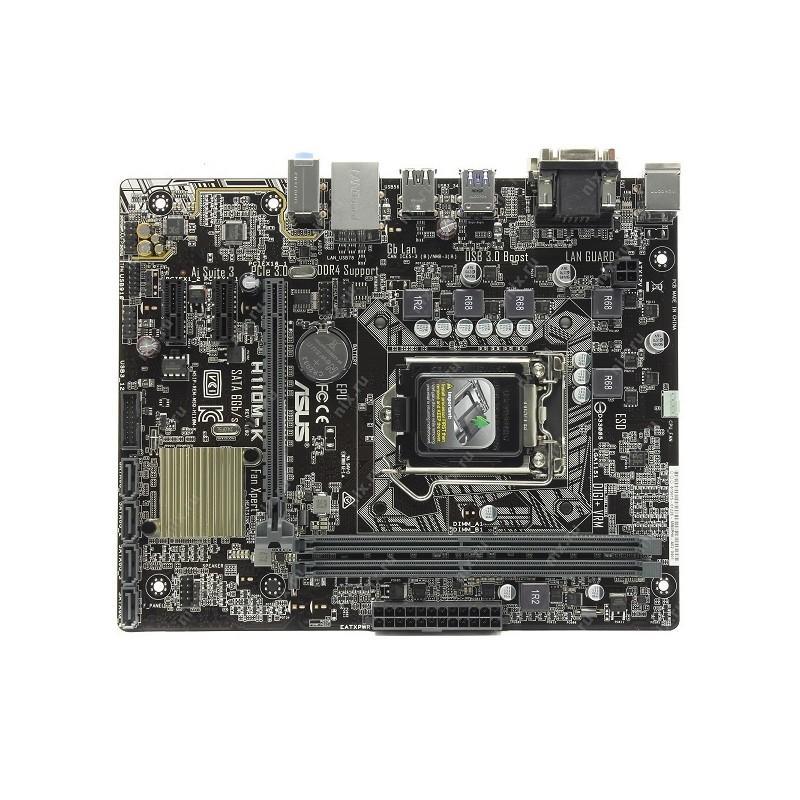 Motherboard Asus LGA 1151 H110M-K Rev 1.02 | Garansi 1 Tahun
