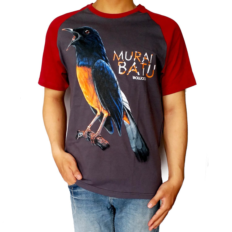 Murai medan kaos burung kicau mania 3d fullprint | Shopee Indonesia -. Source · Kaos Murai Batu 03 Reg Abu Tua - Bawara