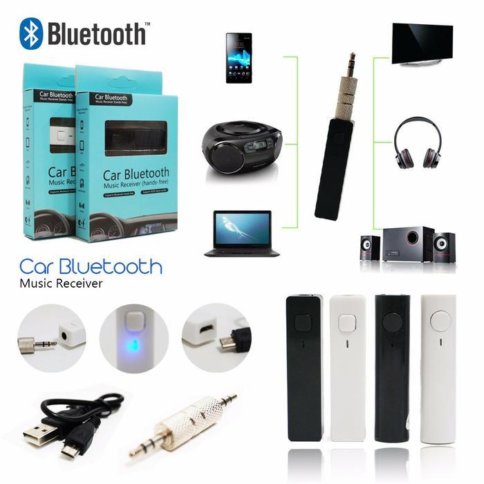 Car Bluetooth Receiver Headset Speaker Tape Mobil