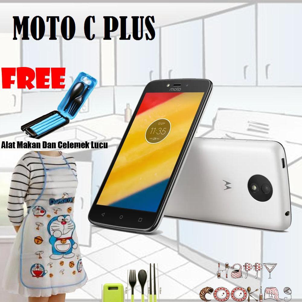Motorola Moto C Plus XT1721 2/16GB White Free 2 Item
