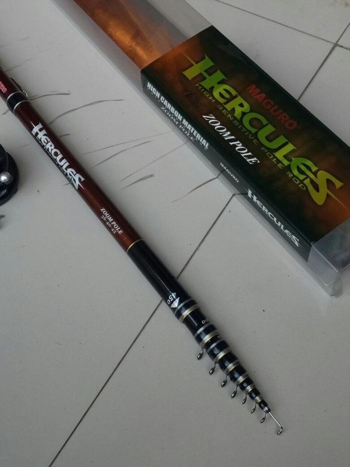 SALE - Joran Tegek Carbon Maguro Hercules 3 way Zoom Custom 360/400/450cm Original