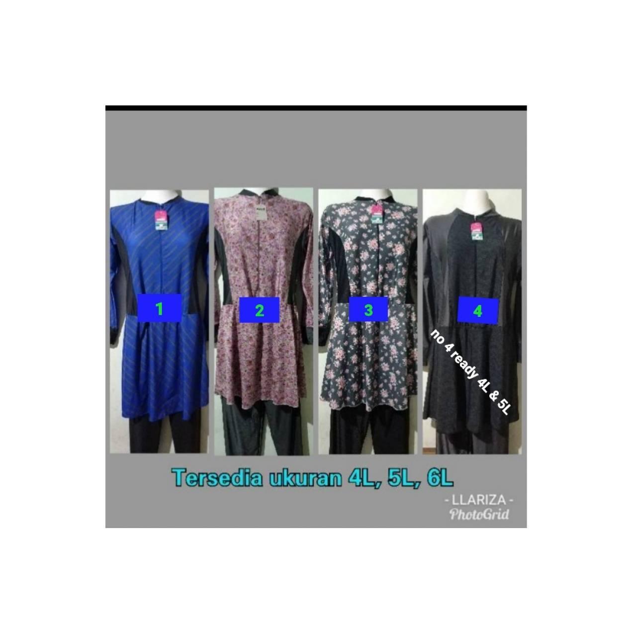Jual baju renang muslim dewasa ukuran jumbo XXXL XXXXL