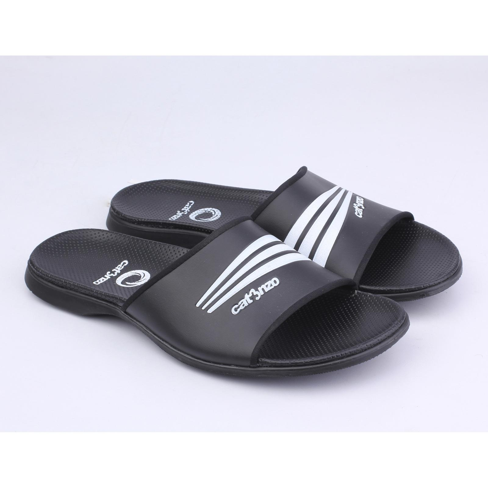 Catenzo Sport - Men Black Sandals - Sandal Sporty Pria - Black