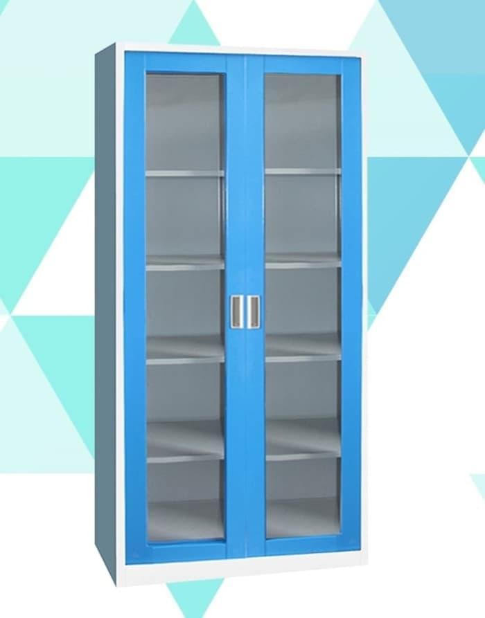 NEW Lemari Besi Pintu Kaca - Filling Glass With Swing Doors Kozure KF-03G PROMO