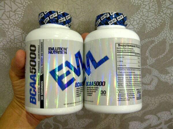 EVL BCAA 240 Caps [Supplement fitnes GYM Surabaya]