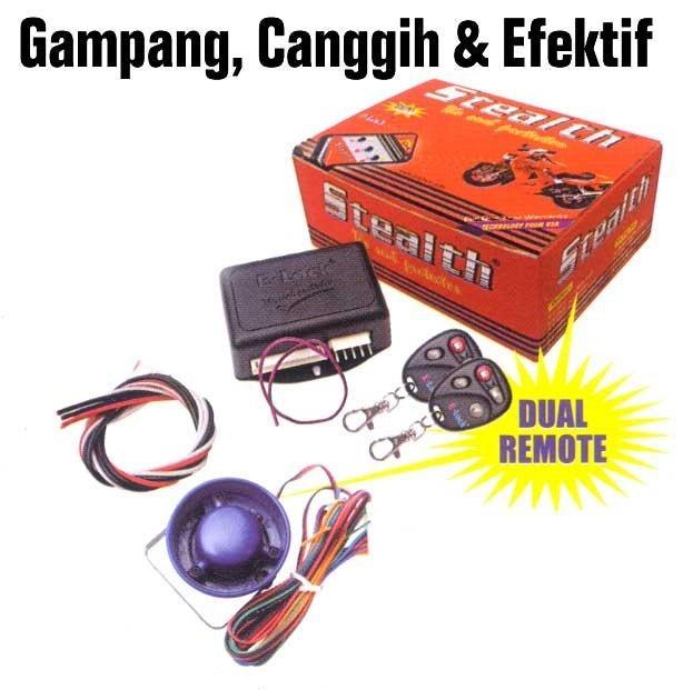 E-LOCK STEALTH | ( gembok alarm motor anti maling koper sepeda pagar cakram kinbar kode tas mobil clock rumah sensor gerak pintu digital remote lock bht ) |